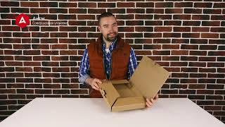Коробки для картин из гофрокартона. Особенности картонной упаковки