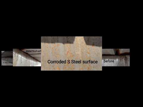 Corroded Stainless Steel Gutter Repair & Coating Malaysia