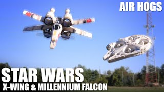 Star Wars X-Wing & Millennium Falcon by Air Hogs | Flite Test