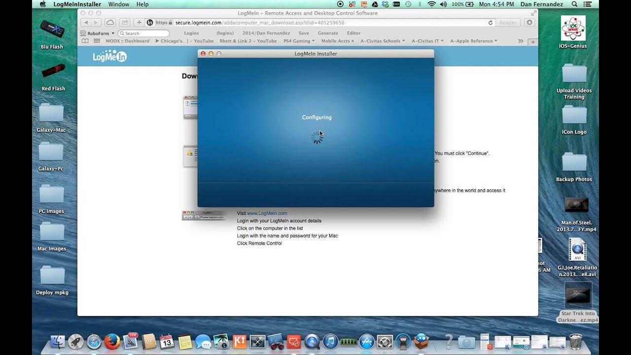 Logmein App Review - Logmein Deployment Link Tutorial - iOSGenius