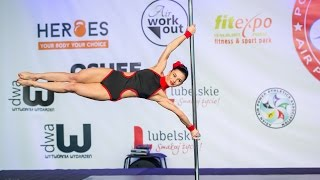 3rd place Polish Pole Sport Championship 2017 - Bielecka Katarzyna kat. professional