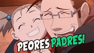 Top 7 peores padres del anime