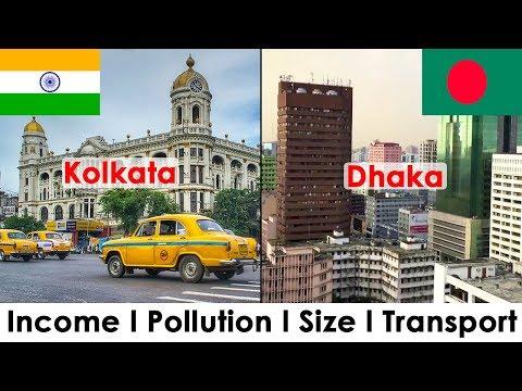 KOLKATA vs DHAKA (Quality of Life Comparison)