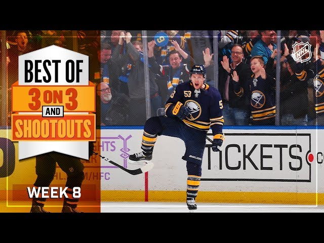 Best 3-on-3 and Shootout Moments from Week 8