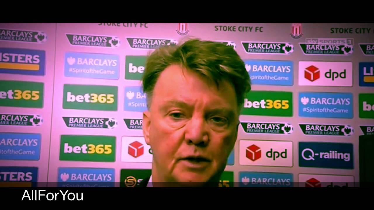 Louis Van Gaal Interview After Shocking Match