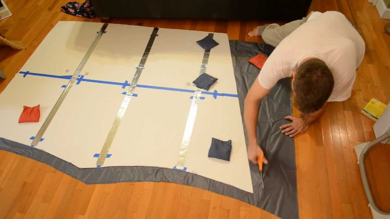 Cutting A Catenary Curve Tarp Camping With Hammocks