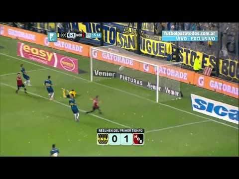 Ftbol en vivo boca  newells fecha 1 torneo primera divisin 2014 fpt