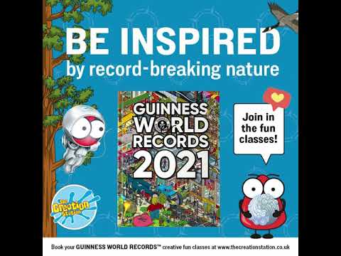 GUINNESS WORLD RECORDS inspired classes across the UK brought to you by The Creation Station