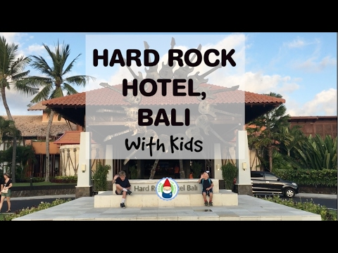 Hard Rock Hotel Bali with Roam the Gnome and friends!