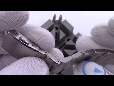 How To Size The Seiko SARB033 and SARB035 Bracelet- Watch and Learn #53