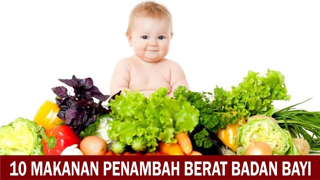 10 Makanan Penambah Berat Badan Bayi Youtube