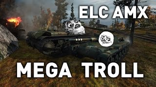One of QuickyBaby's most viewed videos: World of Tanks || ELC AMX - Mega Troll