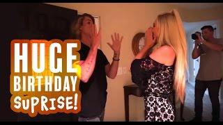 HUGE BIRTHDAY SURPRISE!!! | Feat. Savannah Soutas & Cole LaBrant FOREVERANDFORAVA