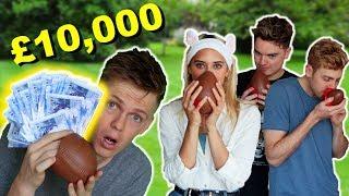 £10,000 EASTER EGG HUNT - GIRLFRIEND VS ROOMMATES