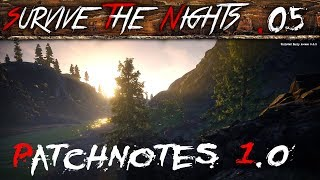 Survive The Nights #05 | Patchnotes 0.1.0 | #STN Let's Play Gameplay Deutsch thumbnail