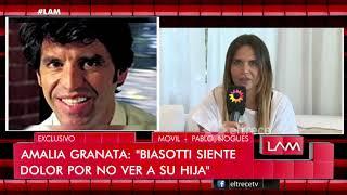 """Amalia Granata: """"No es cierto lo que contó Anna Chiara del Boca"""""""