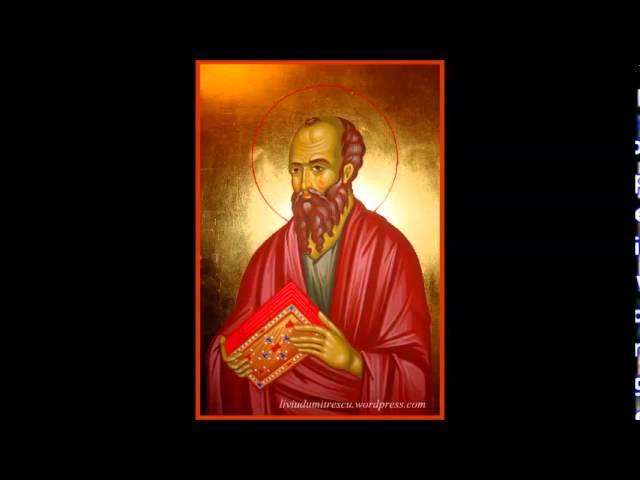 6. Epistola catre Romani a Sfantului Apostol Pavel, Noul Testament Crestin Ortodox
