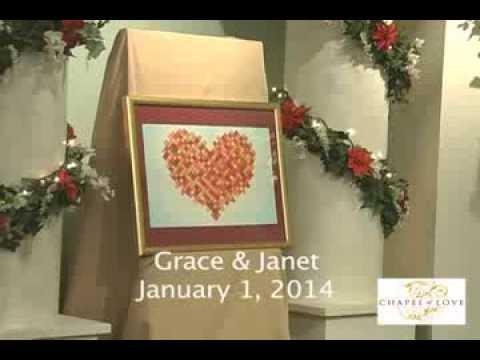 Chapel Of Love Mall America January 1 2014 Wedding Ceremony Highlight Janet Grace