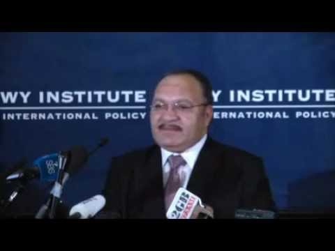 DISTINGUISHED SPEAKER SERIES: THE HON PETER O'NEILL, PRIME MINISTER OF PAPUA NEW GUINEA