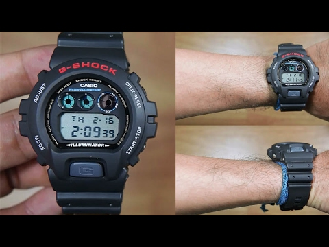 e67db70de0ee CASIO G-SHOCK DW-6900-1 BLACK - UNBOXING - YouTube