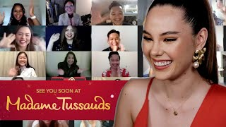 Q&A with Madame Tussauds ❤️  | Catriona Gray