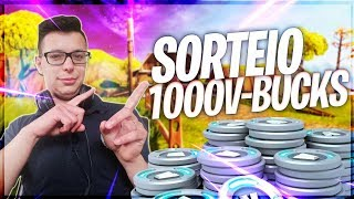 🔴 LIVESTREAM FORTNITE-DRAW 1,000 V-BUCKS TODAY (! DRAW