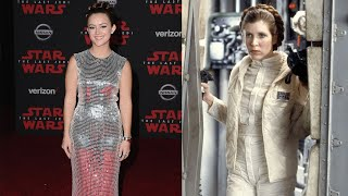 Billie Lourd Honored Mom Carrie Fisher At 'Star Wars: The Last Jedi' Premiere