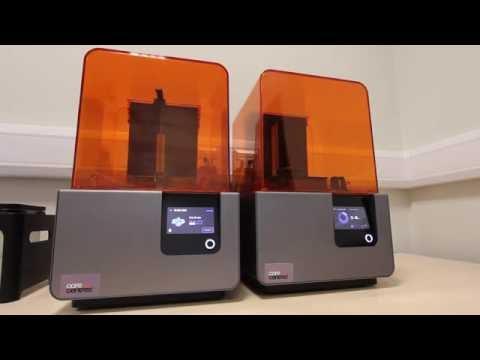 3D Printer - Printing Digital Dental Models with Partial Denture