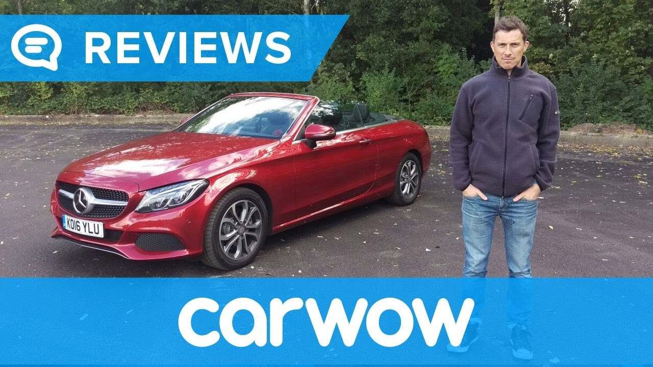 Mercedes C Cl Cabriolet 2018 In Depth Review Mat Watson Reviews