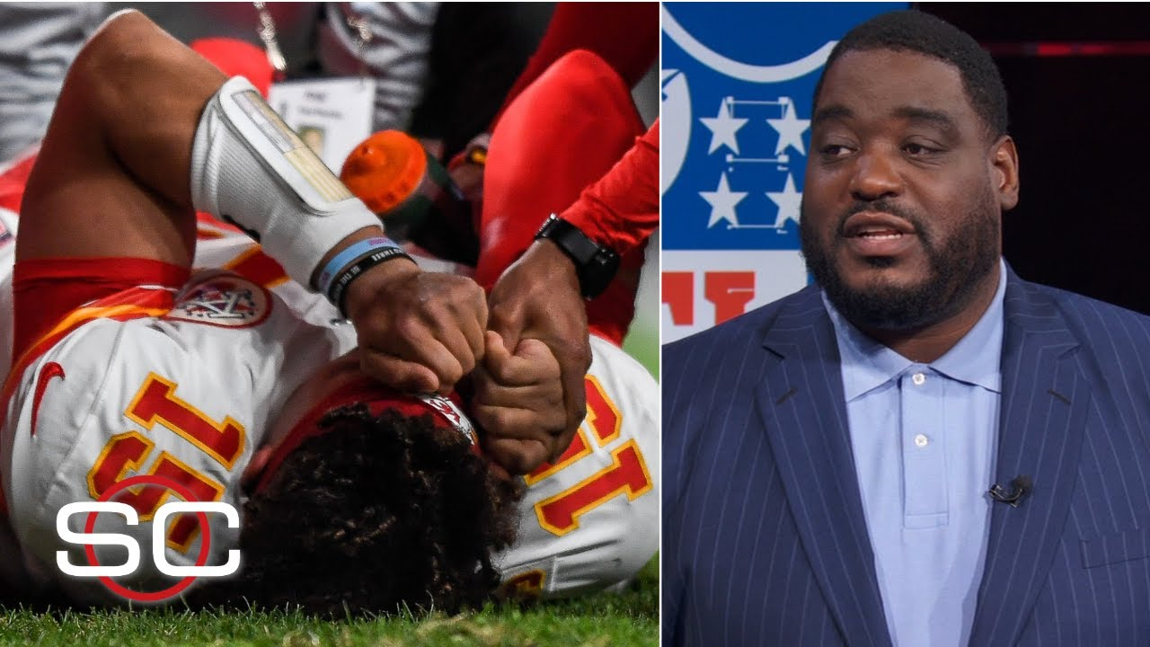 Patrick Mahomes Knee Injury Not Putting Andy Reid In A Panic Damien Woody Sportscenter