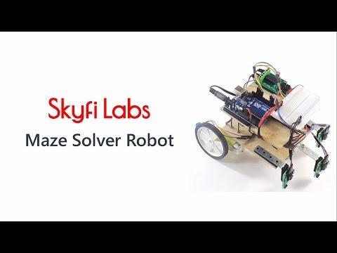 Maze Solver Robotics Project - Online Course