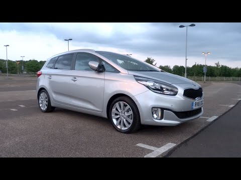 2016 Kia Carens 1.7 CRDi 134 ISG '4' Start-Up and Full Vehicle Tour