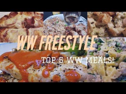 MY TOP 5 WW MEALS | PIZZA - PASTA - CASSEROLES & MORE | WEIGHT WATCHERS!!