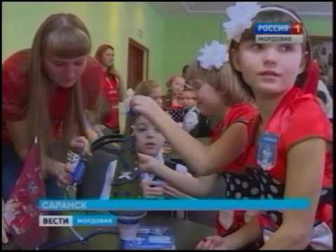Предновогодний праздник для детского приюта «Надежда» устроили волонтёры