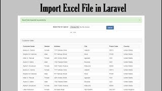 How to Import Excel Data in Laravel and Insert into Database