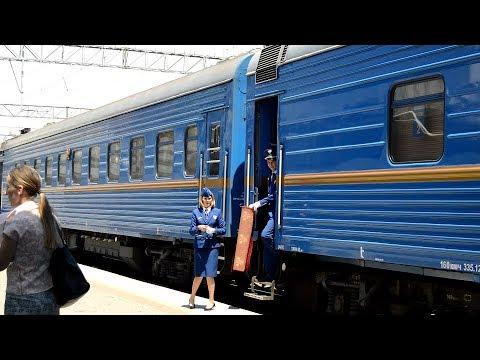 Прибытие поезда Золотой Орел на вокзал Владивосток