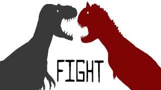 DDA-daspletosaurus vs carnotaurus