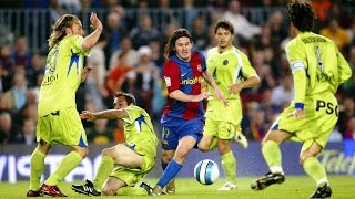 Lionel messi legendary solo goal vs getafe cf in 2007 best possible full hd quality and english commentary. watch this like never before! ...