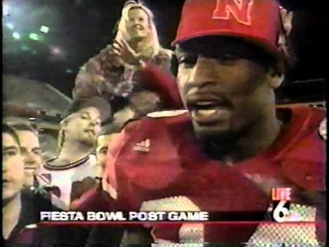 1996 WOWT Nebraska vs Florida Fiesta Bowl PostGame