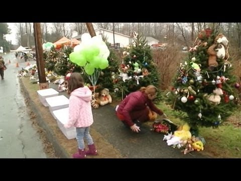 Sandy Hook Elementary School Shooting: Day of Mourning at Newtown, Connecticut Funerals