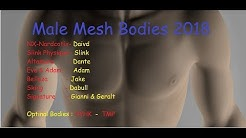 Ultimate Male Bodies in Second life for 2018