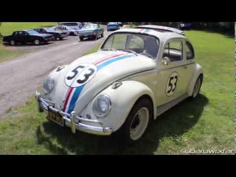 Herbie VW Beetle- Actual Movie Stunt Car