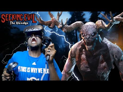 YOU CAN'T OUTRUN HIM | SEEKING EVIL: THE WENDIGO VR |