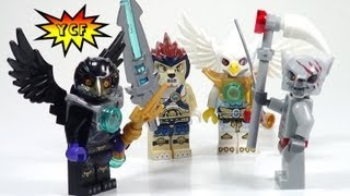 Lego Legends Of Chima Minifigures Accessory Set Review - Lego 850779
