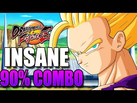 9000 DAMAGE COMBO WITH TEEN GOHAN! - Dragon Ball FighterZ Teen Gohan, Adult Gohan & Piccolo Gameplay