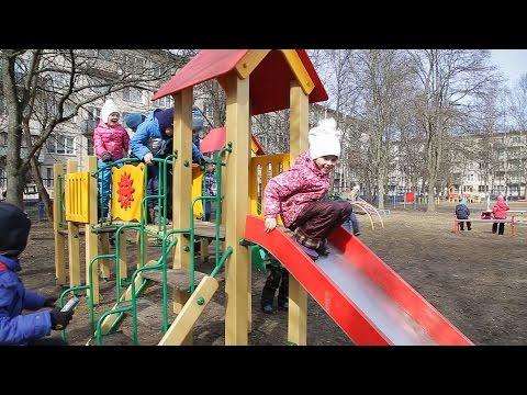 День из жизни детского садика №619. 2017 год. Санкт-Петербург