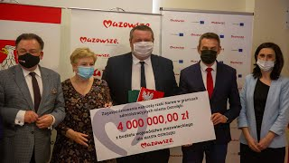 Konferencja Samorząd Województwa Mazowieckiego.