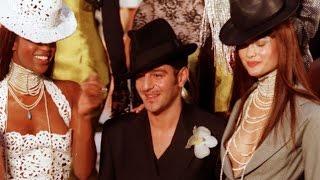 Christian Dior Haute Couture printemps-été 1997 [Fashiontv]