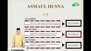 PENDIDIKAN AGAMA ISLAM | IMAN KEPADA ALLAH SWT. (Pertemuan 2)