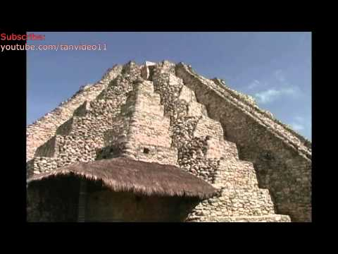Mayan Mayapan pyramid detail - youtube.com/tanvideo11